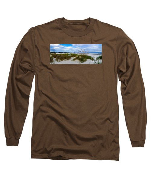 Sand Dunes And Blue Skys Long Sleeve T-Shirt