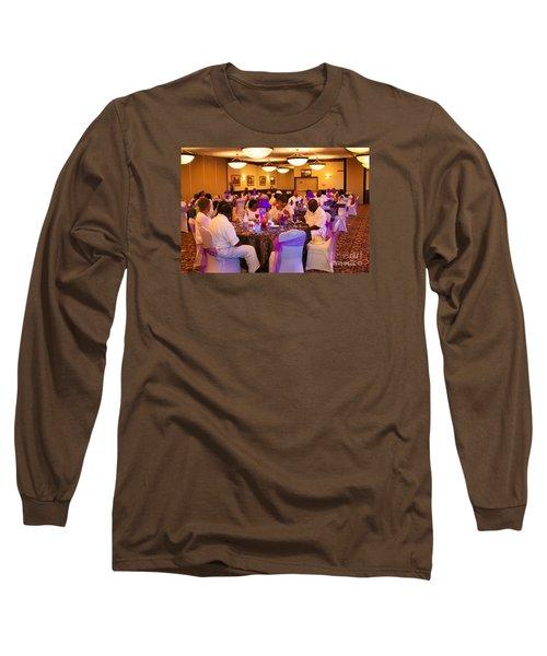 Sanderson - 4555 Long Sleeve T-Shirt by Joe Finney