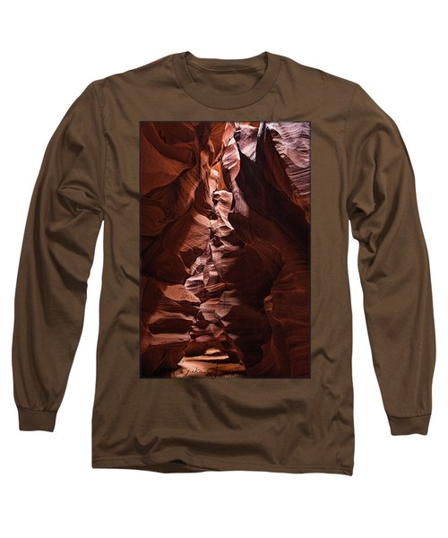 Sandstone Curves Long Sleeve T-Shirt