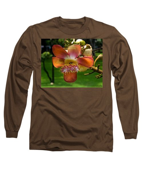 Sara Tree Flower Dthb104 Long Sleeve T-Shirt