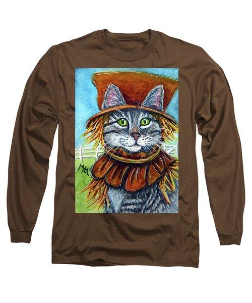 Scarecrow Tabby Long Sleeve T-Shirt