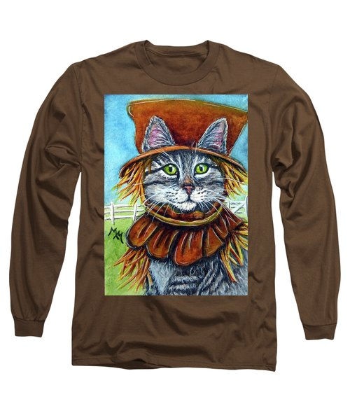Scarecrow Tabby Long Sleeve T-Shirt