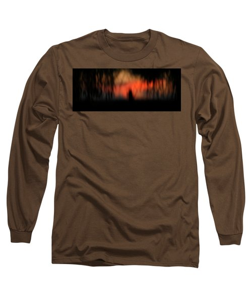 Long Sleeve T-Shirt featuring the photograph Scary Nights by Marilyn Hunt