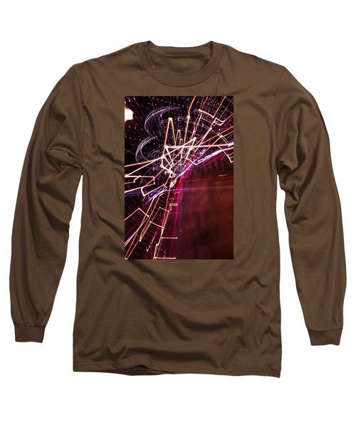 Scatter  Long Sleeve T-Shirt by Micah Goff