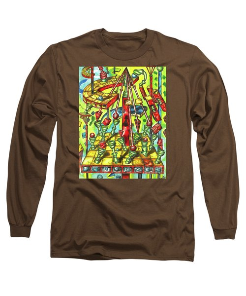 Science Of Chess Long Sleeve T-Shirt