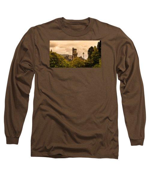 Scottish Abbey Long Sleeve T-Shirt