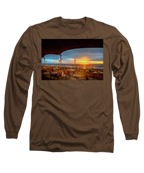 Long Sleeve T-Shirt featuring the photograph Sea Cruise Sunrise by John Poon