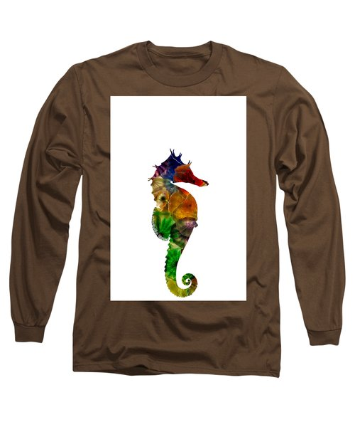 Sea Horse Long Sleeve T-Shirt