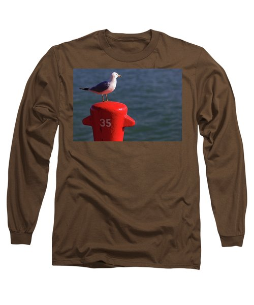 Seagull Number 35 Long Sleeve T-Shirt