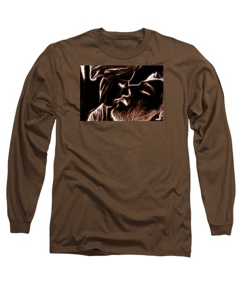 Long Sleeve T-Shirt featuring the digital art Sealed With A Kiss by Stephen Younts