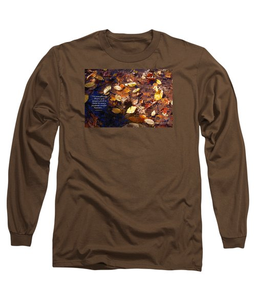 Long Sleeve T-Shirt featuring the photograph Seasons by Diane E Berry