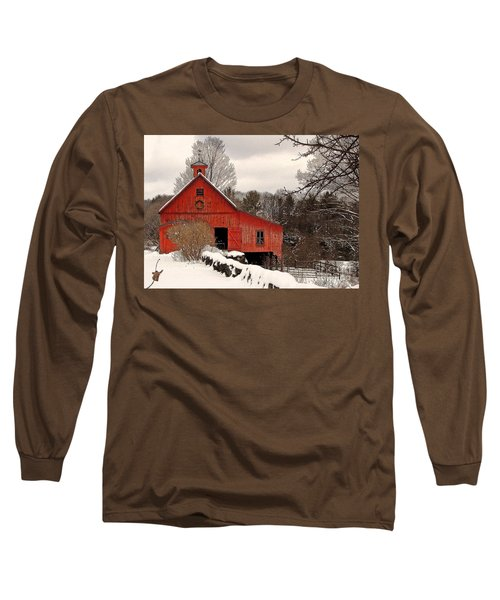 Season's Greetings Long Sleeve T-Shirt by Betsy Zimmerli