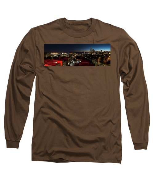 Seattle City And Port Long Sleeve T-Shirt