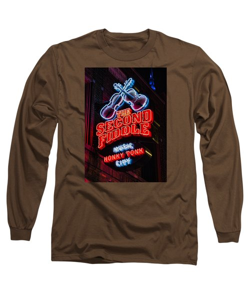 Second Fiddle Long Sleeve T-Shirt by Stephen Stookey
