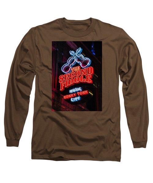 Second Fiddle Long Sleeve T-Shirt