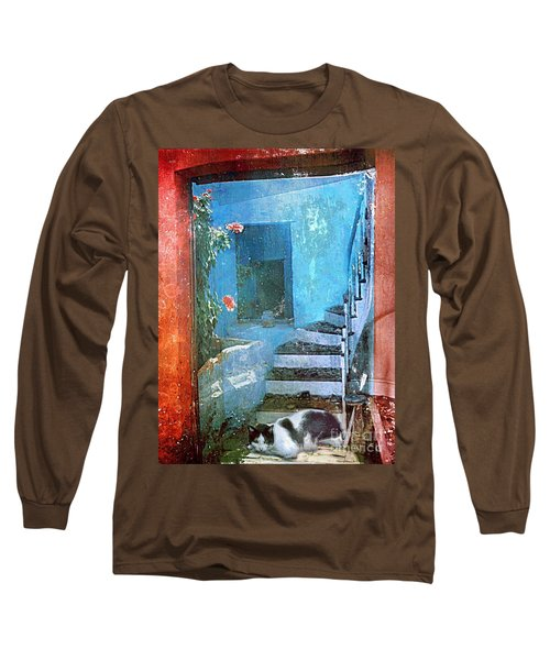 Secret Space Long Sleeve T-Shirt by Alexis Rotella