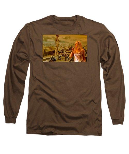 Secrets Long Sleeve T-Shirt by Yelena Tylkina