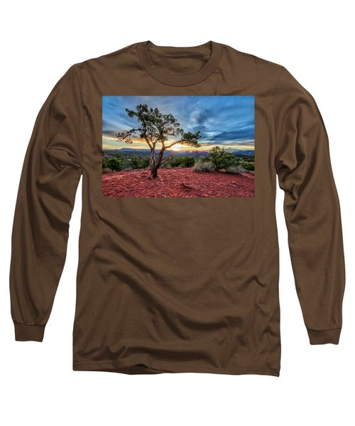 Sedona In The Morning Long Sleeve T-Shirt