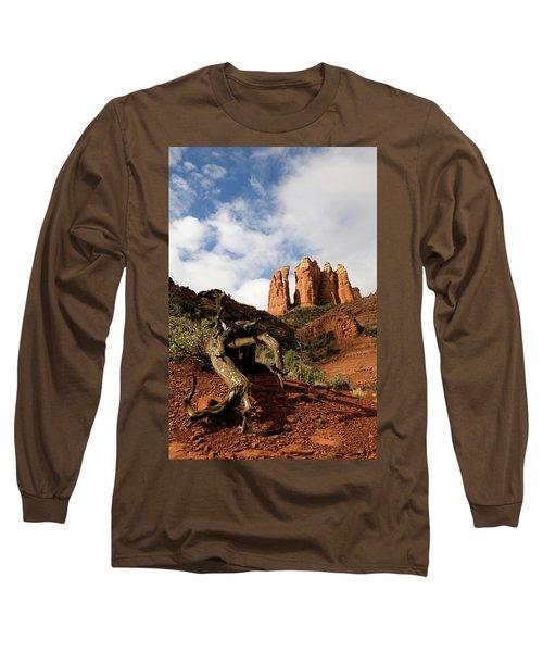 Sedona Red Rocks No. 01 Long Sleeve T-Shirt