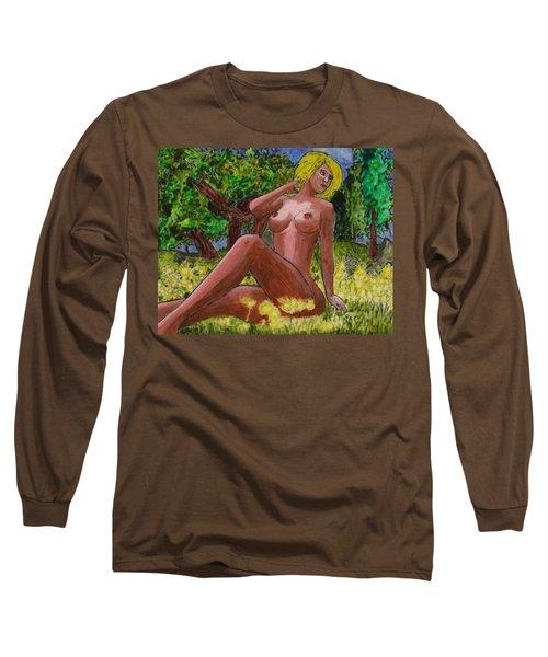 Sedona Summer Long Sleeve T-Shirt by Phil Strang