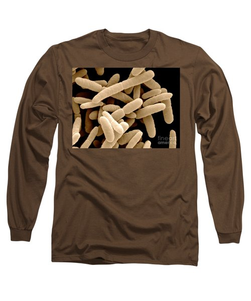 Sem Of E. Coli Bacteria Long Sleeve T-Shirt