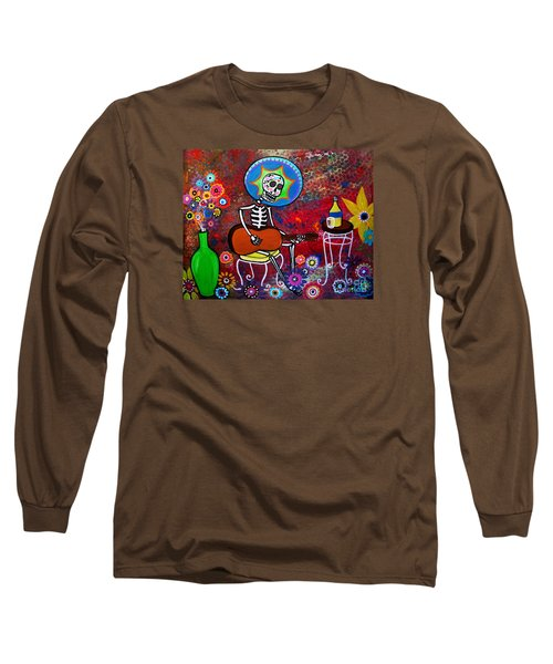 Serenata II Long Sleeve T-Shirt by Pristine Cartera Turkus