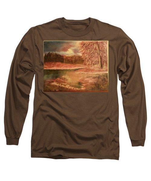 Serene Lake  Long Sleeve T-Shirt