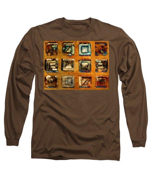 Serial Variation Long Sleeve T-Shirt by Don Gradner