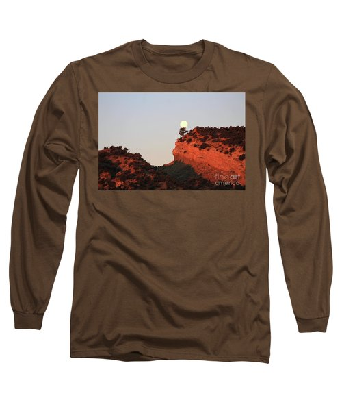 Setting Full Moon Long Sleeve T-Shirt