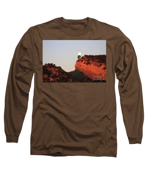 Setting Full Moon Long Sleeve T-Shirt