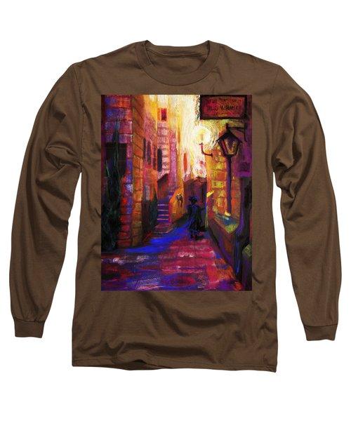 Shabbat Shalom Long Sleeve T-Shirt