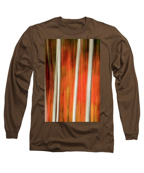 Shades Of Amber And Marmalade  Long Sleeve T-Shirt by Dustin LeFevre