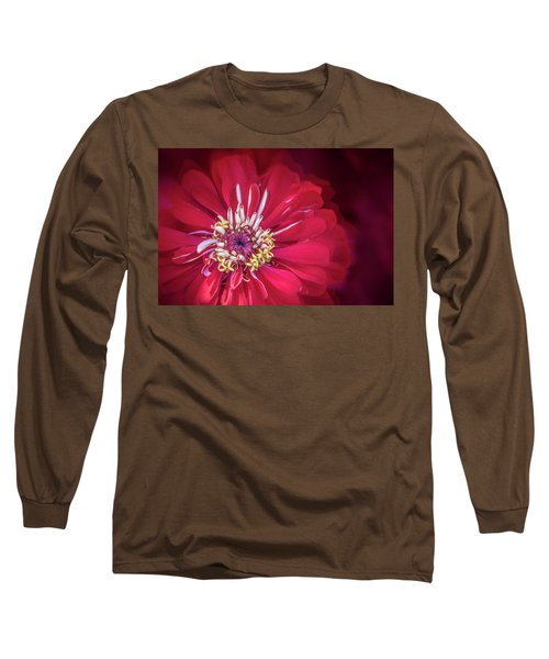 Shades Of Red Long Sleeve T-Shirt