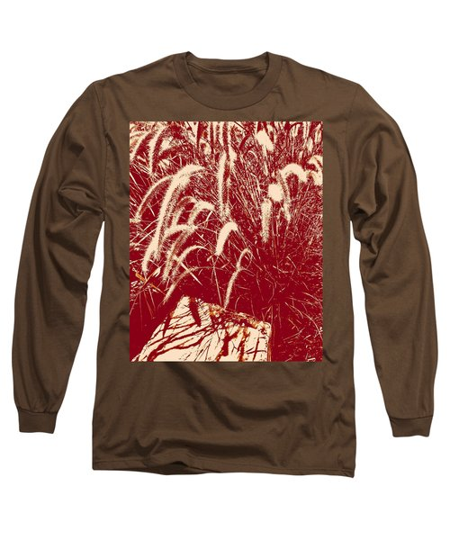 Shadow Painting Long Sleeve T-Shirt