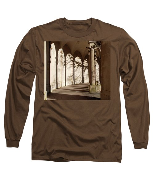 Long Sleeve T-Shirt featuring the photograph Shadows And Curves by Richard Bryce and Family