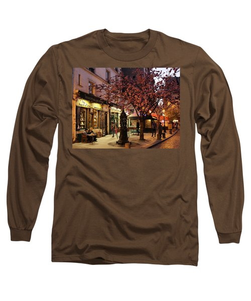 Long Sleeve T-Shirt featuring the photograph Shakespeare Book Shop 2 by Andrew Fare