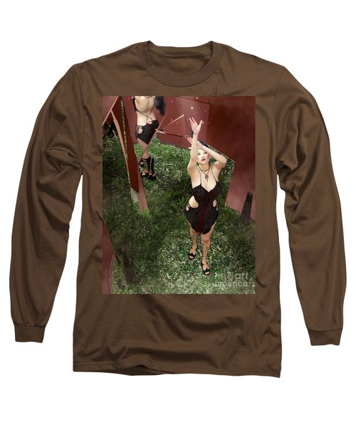 Shattered Reflection Long Sleeve T-Shirt
