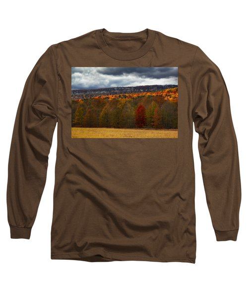 Shawangunk Mountains Hudson Valley Ny Long Sleeve T-Shirt