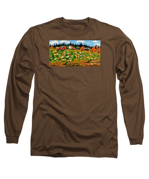 Sheep Farm Long Sleeve T-Shirt