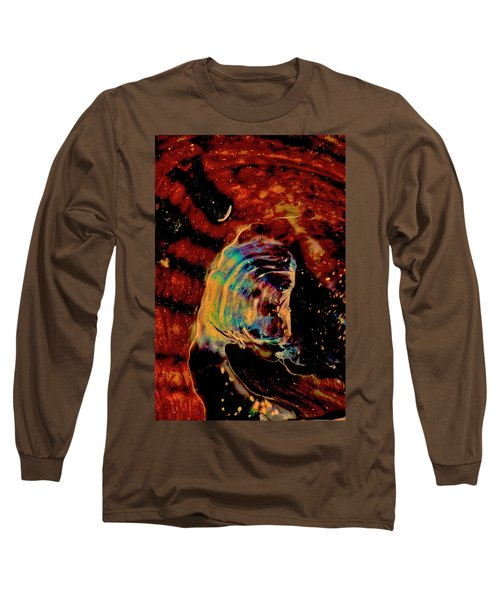 Shell Space Long Sleeve T-Shirt by Gina O'Brien