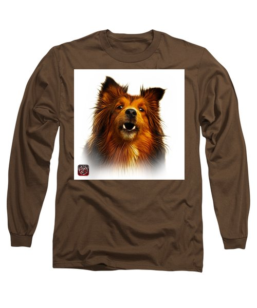 Sheltie Dog Art 0207 - Wb Long Sleeve T-Shirt