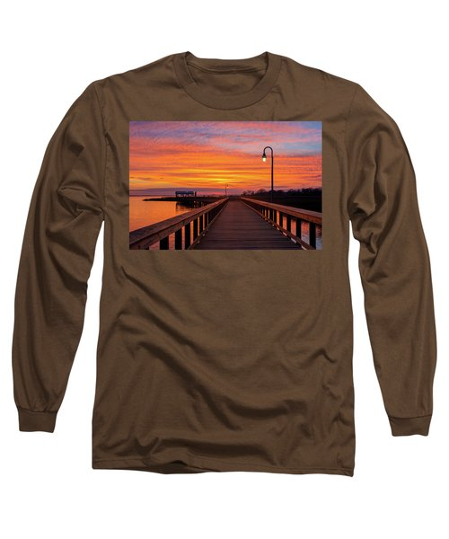 Shem Creek Pier Long Sleeve T-Shirt