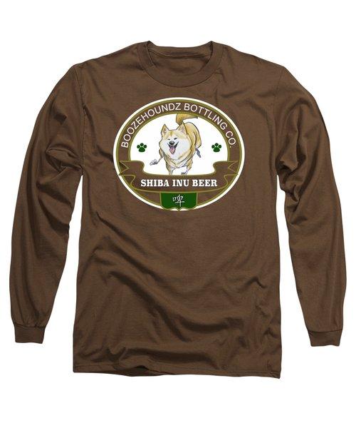 Shiba Inu Beer Long Sleeve T-Shirt