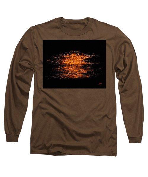 Long Sleeve T-Shirt featuring the photograph Shimmer by Linda Hollis