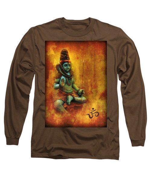 Shiva Hindu God Long Sleeve T-Shirt