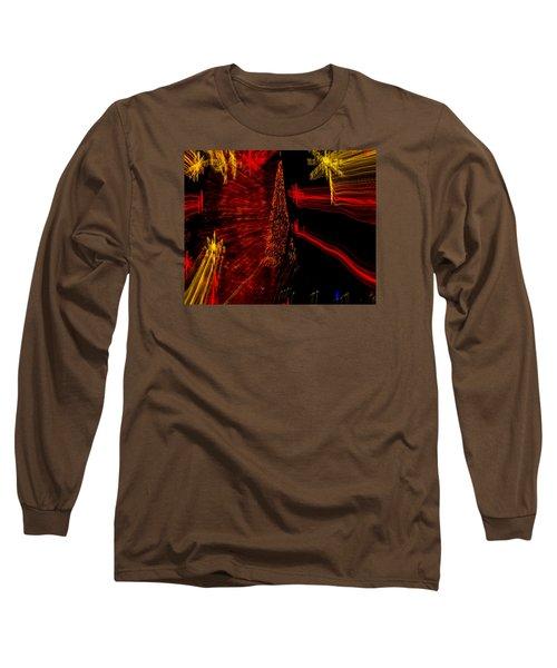 Shooting Stars Long Sleeve T-Shirt by Penny Lisowski