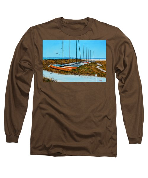 Siesta Key Access #8 Catamarans Long Sleeve T-Shirt