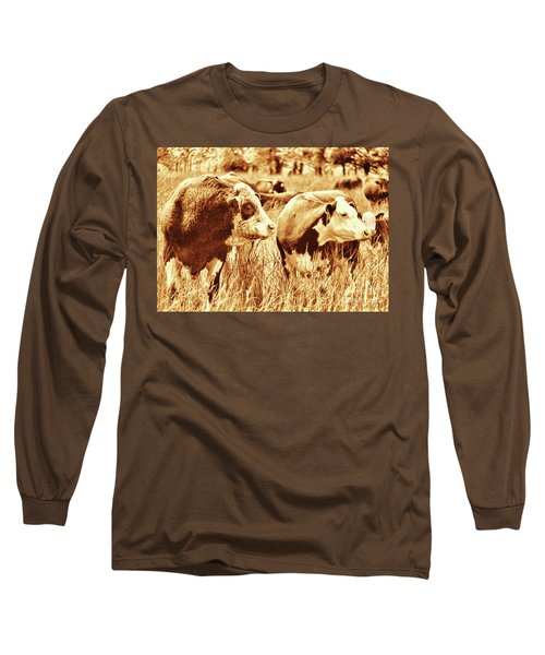 Simmental Bull 3 Long Sleeve T-Shirt