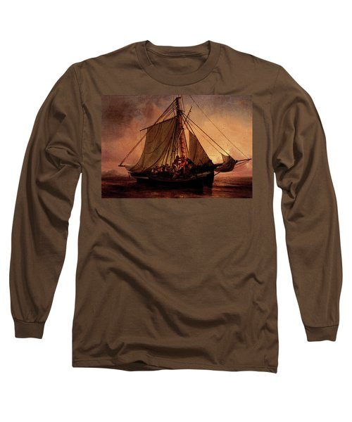 Simonsen Niels Arab Pirate Attack Long Sleeve T-Shirt by Niels Simonsen
