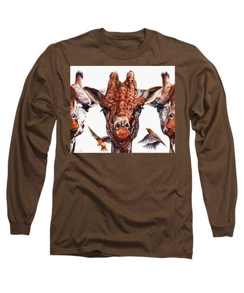 Simple Minds Long Sleeve T-Shirt